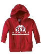 Child Hooded Zipper Sweatshirt