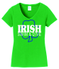Ladies V-Neck Fan Shirt